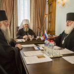 Состоялось заседание Архиерейского совета