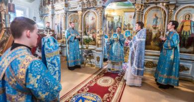 Похвала Пресвятой Богородицы – служение правящего архиерея