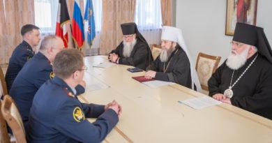 Состоялось подписание соглашения между Удмуртской митрополией и УФСИН УР