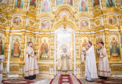 В день памяти свв. Кирилла и Мефодия митр. Викторин совершил литургию
