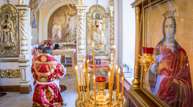 В Троицком соборе г. Ижевска открыт возрожденный Екатерининский придел