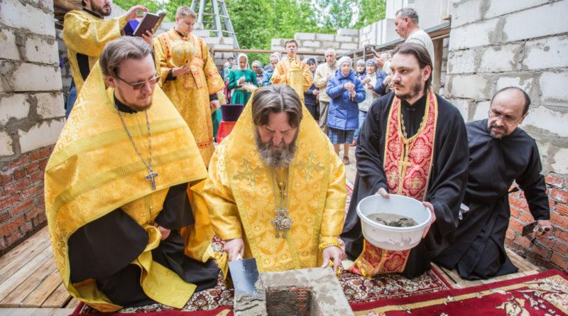 Состоялась закладка камня в основание храма свт. Луки Крымского