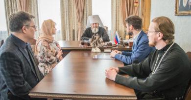 Митрополит Викторин встретился с координатором всероссийского движения «За жизнь»