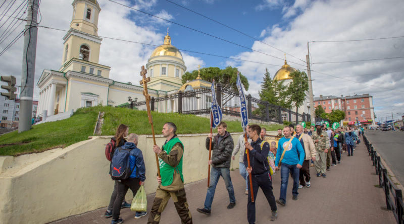 В Ижевск прибыл крестный ход «За жизнь и семью – 2018»