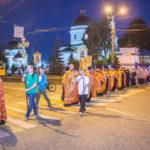 Ночной крестный ход в честь памяти святых Царственных страстотерпцев
