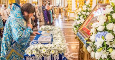 Митрополит Викторин совершил богослужения в честь Пресвятой Богородицы в кафедральном соборе