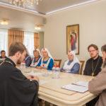 В епархиальном управлении прошло собрание Отдела социального служения