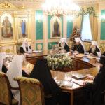 Решение Священного Синода о прекращении общения с Константинопольской Церковью доведено до прихожан