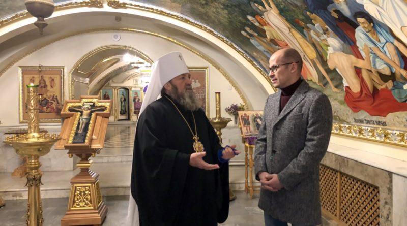 Митр. Викторин встретился с Главой Удмуртии