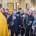 В кафедральном соборе прошел молебен для участников Парадельфийских игр