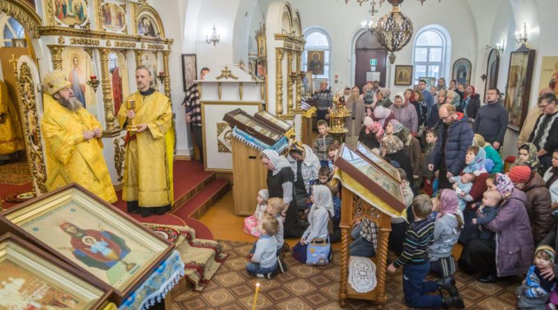 Митрополит Викторин посетил приход с. Ягул Завьяловского района