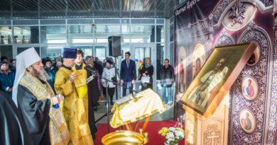 Состоялось открытие православной выставки-ярмарки, посвященной 195-летию Александро-Невского собора