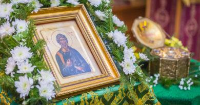 Престольный праздник в храме с. Якшур-Бодья - память апостола Андрея
