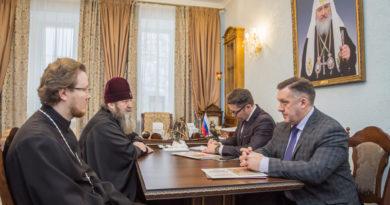 Состоялась встреча митр. Викторина с Главой города Ижевска