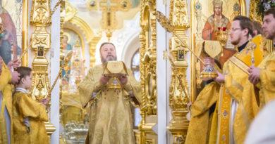 Праздник свт. Николая Чудотворца в кафедральном храме