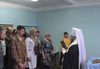 Освящение молитвенной комнаты в с. Постол