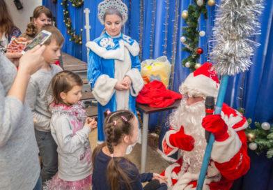 Рождественский праздник для подопечных центра «Источник»