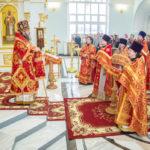 Архипастырское служение в праздник Собора новомучеников и исповедников Церкви Русской