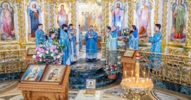Престольный праздник в храме Иверской иконы Божией Матери