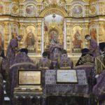 В Неделю 2-ю Великого поста митр. Викторин совершил литургию в кафедральном храме