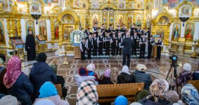Накануне Благовещения в Михаило-Арханегельском соборе прошел концерт духовной музыки