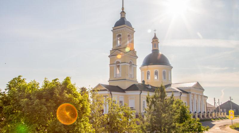 В с. Водзимонье прошли торжества в честь 190-летия храма