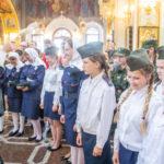 Открытие детско-юношеского лагеря «Казачья смена»