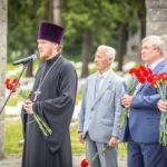 Священнослужители посетили акцию «Горсть памяти»