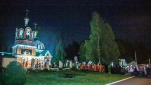 В ночь с 16 на 17 июля состоится Божественная литургия у храма Царственных страстотерпцев г. Ижевска