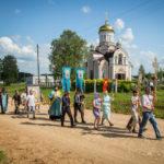 Накануне праздника Казанской иконы Божией Матери в Якшур-Бодьинском районе прошел крестный ход