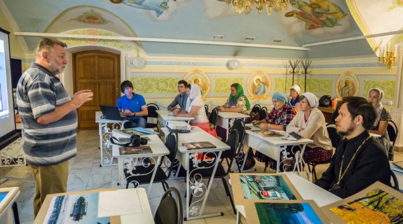 Начинаются занятия в рамках проекта Епархиальный медиацентр
