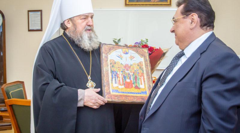 Состоялась встреча митрополита Викторина и гендиректора Ижевского мотозавода