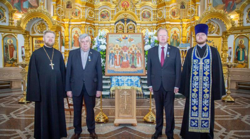 Два депутата Государственной Думы РФ отмечены высокими церковными наградами