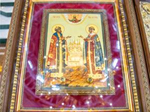19 сентября состоится престольный праздник кафедрального храма и память свв. Петра и Февронии