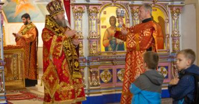 Престольный праздник нижнего храма кафедрального собора