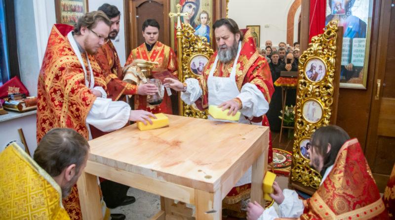 В Ижевске освятили храм в честь мц. Марины Антиохийской