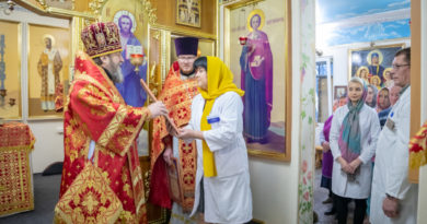 19-летие со дня освящения храма при Автозаводской больнице