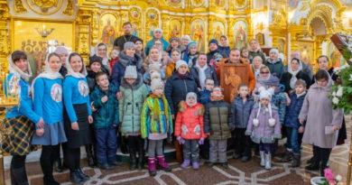 Учащиеся воскресной школы для незрячих детей посетили архиерейское богослужение