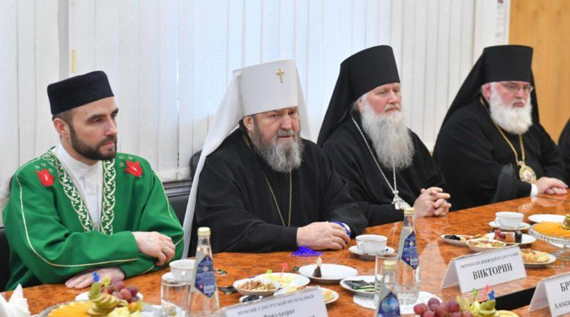 В День народного единства Главы епархий Удмуртии приняли участие во встрече с Главой республики