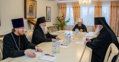 Архиерейский совет митрополии обсудил вопросы окормления казачества