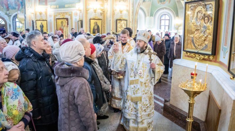 Служение архипастыря в Крещенский Сочельник