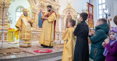 Митр. Викторин посетил храм прав. Иоанна Кронштадтского п. Ува