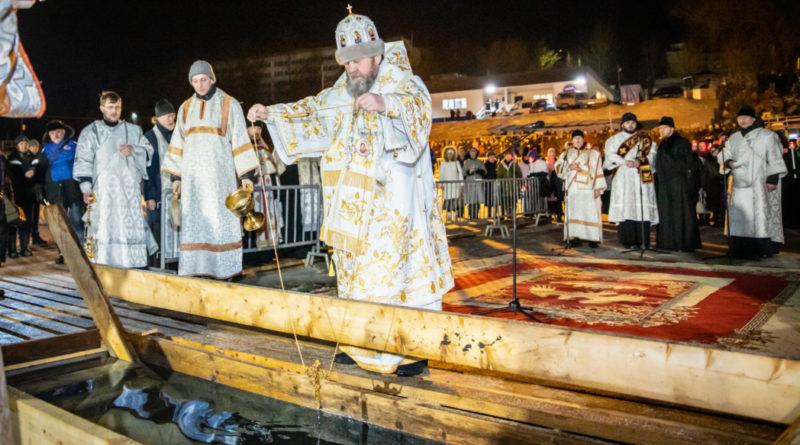 Накануне праздника Богоявления в Ижевске состоялся традиционный крестный ход