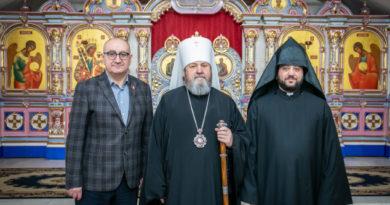 Митрополит Викторин встретился с представителями армянской общины г. Ижевска