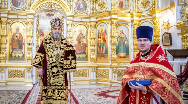 Митрополит Викторин совершил богослужение в день своего рождения