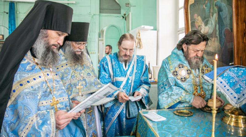 Архипастырское служение на праздник Успения Пресвятой Богородицы
