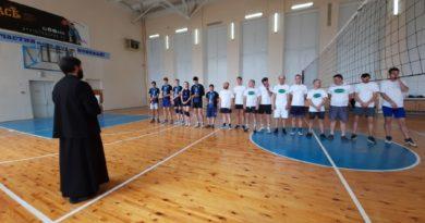 В День трезвости - товарищеский волейбольный матч