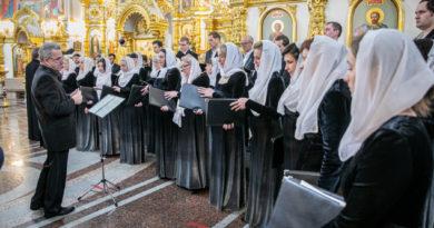 В кафедральном храме Ижевска прозвучала «Литургия» П.И. Чайковского
