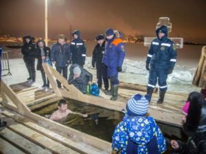 О безопасности на водных объектах в праздник Крещения Господня