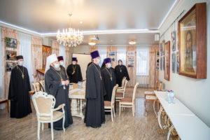 Состоялось заседание Епархиального совета